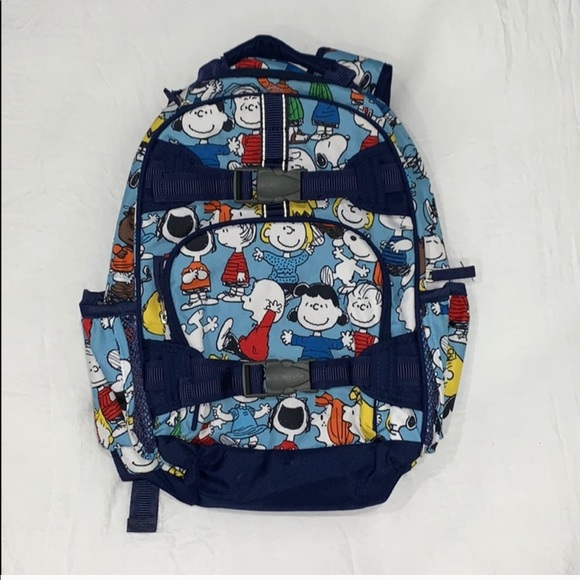 Peanuts edition book bag from Pottery Barn